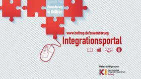 Flyer Integrationsportal